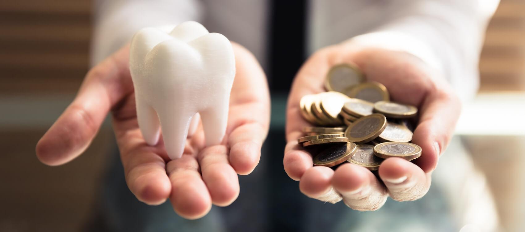 Veranschaulichung für Sparpotential durch eine Zahnzusatzversicherung mit Robert Ebner